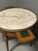 French Marble Top Coffee Table with drawers (4 of 4)