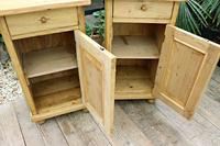 Fab! Two Matching 'will split' Old Pine Bedside Cabinets - We Deliver! (5 of 8)