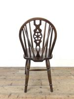 Set of Four Wheelback Dining Chairs (11 of 11)