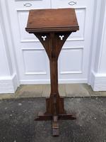 Victorian Oak Church Lectern c.1870 - Ecclesiastical Wedding Interest (8 of 16)