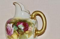 1887 Large Royal Worcester Porcelain Ewer (5 of 8)