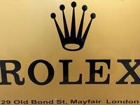 Rolex Shop Front Adverting Heavy Swinging Sign Mayfair London (21 of 27)