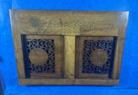Victorian Italian Sorento Olivewood Book Stand with Micro Mosaic Inlay (8 of 23)