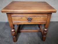 Light Oak Coffee / Side Table (6 of 8)