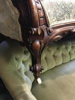Victorian Mahogany Sofa (5 of 10)