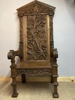 Gothic Revival Throne (19 of 20)