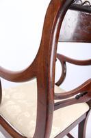 Pair of Regency Mahogany Open Armchairs / Carvers (13 of 13)