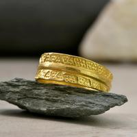 The Viking Age Iron Heart Gold Ring (2 of 6)