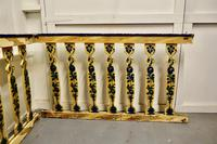 Hand Painted Wooden Railings from a Fair Ground (3 of 11)