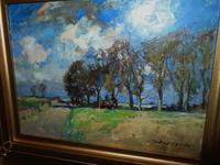 Rural Scene Oil on Board by W.B.Lamond (3 of 6)