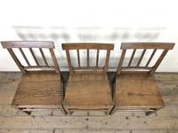 Set of Three 19th Century Farmhouse Chairs (3 of 9)