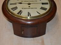 William Braithwaite Carnforth Fusee Dial Wall Clock (2 of 4)