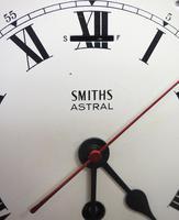 Superb Antique English Smiths Bulkhead Wall Clock 8 Day Ships Clock (10 of 11)