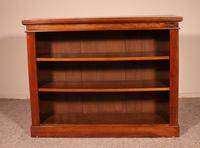 Open Bookcase from England in Walnut 19th Century (2 of 8)