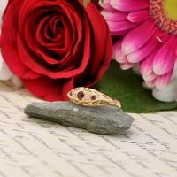 The Antique 1916 Chester Ruby & Diamond Ring