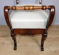 Carved Mahogany Piano Stool (4 of 5)