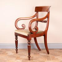 Set of Eight 19th Century Mahogany Dining Chairs (24 of 26)