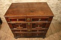 early oak chest of drawers (4 of 6)