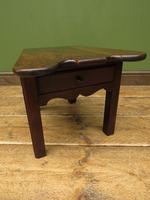 Unusual Antique Victorian Stool, Cobblers Stool, Milking Stool, Farriers Stool (8 of 12)