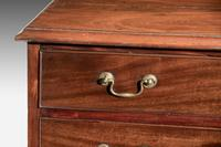 A Small George III Period Mahogany Chest of Drawers of Small Proportions (3 of 3)