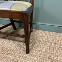 Set of 8 Hepplewhite Design Antique Mahogany Dining Chairs (2 of 10)