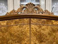 Queen Anne Burr Walnut Fitted Wardrobe (7 of 15)