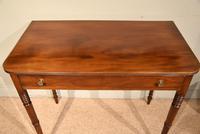 George III Single Drawer Mahogany Side Table (5 of 6)
