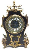 Fine French Ebony & Ormolu Boulle Mantel Clock – Farcot Skelton Dial 8 Day Mantle Clock (7 of 9)