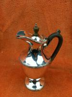 """Antique Silver Plate """"Martinoid"""" Coffee Pot -  Martin Hall & Co , C1900 - Sheffield (7 of 8)"""
