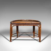 Antique Set of Nesting Tables, Oriental, Bamboo, Occasional, Side, Edwardian (6 of 10)