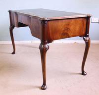 Antique Quality Burr Walnut Writing Desk (7 of 13)