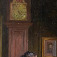 Robert Panitsch, Interior Scene with Pensive Woman (9 of 10)