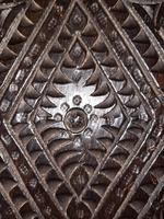 c.1570 A.D. English Tudor Carved Oak Wooden Panel (11 of 11)