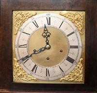 Small Oak Westminster Chime Longcase Clock (8 of 10)