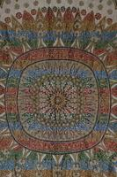 Large Vintage Middle Eastern Embroidered Silk Wall Hanging (4 of 10)