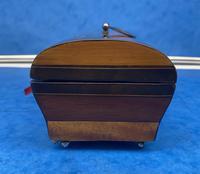 French Mahogany Glove Box with Boxwood, Ebony & Fruitwood Stripes (6 of 12)
