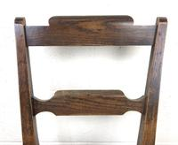 Pair of Welsh Oak Bar Back Farmhouse Chairs (6 of 15)