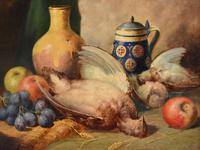 Superb still life oil painting by Richard Ansdell RA (3 of 8)