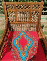 Pair of Moorish Middle Eastern Ottoman Islamic Throne Chairs - Liberty's of London / Liberty & Co (2 of 6)