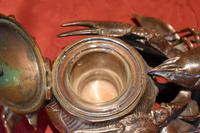Fine Bronze Lobster Inkwell (3 of 10)