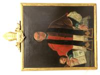 Huge Fine 18th Century Italian Religious Oil Painting Portrait Pope Clement XIII (12 of 47)