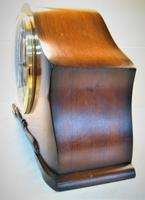 Scarce 1938 German Westminster Chiming Mantel Clock with Platform Escapement. (2 of 5)
