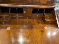 George I Walnut Bureau Bookcase (4 of 9)