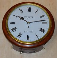 Parker Bristol Fusee Dial Wall Clock