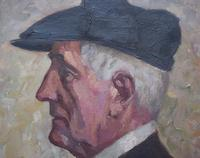 Attributed to Otto Hofner Oil Painting 1915 (3 of 8)