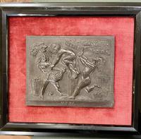 Interesting Set of Twelve Welsh Slate Hand-Carved Plaques (7 of 17)