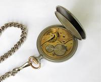 Antique Zenith pocket watch and chain (3 of 4)