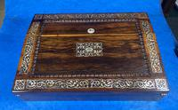 William IV Rosewood Lap Desk (7 of 18)