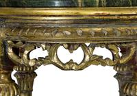 Pair of French Giltwood Carved Marble Top Stands (5 of 6)