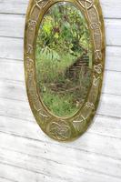 Arts & Crafts Movement Scottish / Glasgow School Large Oval Wall Mirror c.1900 (16 of 28)